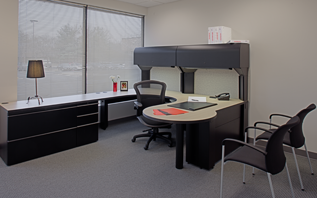 Restyle commercial office furniture used office for Commercial furniture