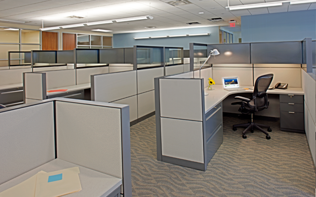 restyle used office furniture | leed for commercial interiors